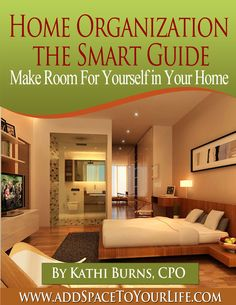 Looking for a step by step path to getting your home organized? Here it is! You will find tried and true professional organizing tactics to help you organize every single area inside your home - from your front door to your back door and all areas in between. The good news is - this is a clutter free book because it is an eBooK!