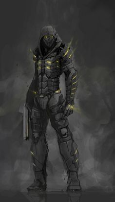 Art Discover Robot concept art sci fi future soldier 51 Ideas for 2019 Science Fiction Character Concept Character Art Rpg Cyberpunk Arte Robot Sci Fi Armor Sci Fi Weapons Skyrim Armor Futuristic Armour Fantasy Character Design, Character Concept, Character Inspiration, Character Art, Robot Concept Art, Armor Concept, Science Fiction, Rpg Cyberpunk, Sci Fi Kunst