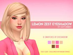 New cc to start the week! I decided to make this eyeshadow on a whim, since I have literally become absorbed in ESO :') hope you all like it! The Sims 4 Pc, Sims 4 Mm Cc, Sims Four, My Sims, Sims 4 Game Mods, Sims 4 Mods, Star Citizen, Maxis, Sims 4 Nails