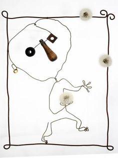 Christian Voltz : le site officiel de l'artiste (auteur, illustrateur, sculpteur, graveur) - Strasbourg - Alsace / France Sculptures Sur Fil, Alsace France, Grand Art, Wire Drawing, Wood Artwork, Art Brut, Site Officiel, Art Thou, Driftwood Art