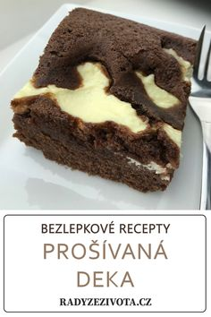 Cottage cheese cake - is gluten-free recipe. Very good czech cake. Tasty and fluffy. Gluten Free Cakes, Gluten Free Recipes, Healthy Recipes, Healthy Food, Cottage Cheese, Glutenfree, Free Food, Cocoa, Cheesecake