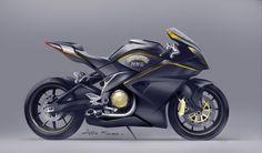 digital illustrations on Behance Scooter Design, Motorbike Design, Bicycle Design, Concept Motorcycles, Cool Motorcycles, Futuristic Motorcycle, Motorcycle Bike, Motorbike Drawing, Bike Sketch