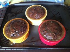 Sticky Toffee Chocolate Puddings