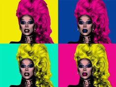 Rupaul, Andy Warhol, Pop Art, Contemporary Art, Halloween Face Makeup, Celebs, Clear Lake, Inspiration, Diva