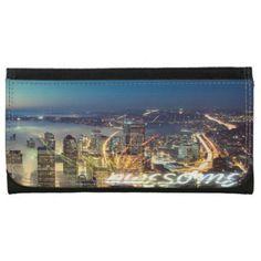 Awesome Seattle Panorama Night Wallet
