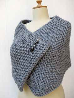 knit a capelet - Google Search