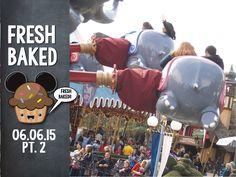 Fresh Baked flys high above Fantasyland with Dumbo! | 06-06-15 Pt. 2