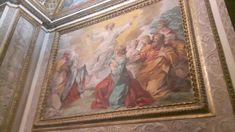 Palazzo Barberini.  Cappella di Pietro da Cortona. Progettata da Bernini e decorata da Pietro da Cortona e allievi. La Crocefissione è l'unica opera riferibile sicuramente al maestro.  1632