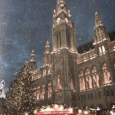 Christmas in Vienna, Austria. Vienna Christmas, Vienna Austria, Cathedral, Travel, Cathedrals, Viajes, Traveling, Tourism, Outdoor Travel