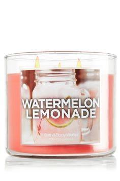 Watermelon Lemonade 14.5 oz. 3-Wick Candle - Slatkin & Co. - Bath & Body Works