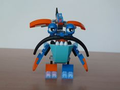 LEGO MIXELS SLUMBO BALK MURP  Instructions video with Lego 41509 and Lego 41517 Mixels Serie 2