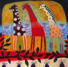 African art lesson idea