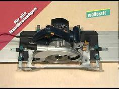 wolfcraft FKS 115 - Führungsschiene für Handkreissägen - YouTube