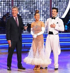 Candace Cameron Bure and Mark Ballas appear on 'Dancing With The Stars' season 18 on May 19, 2014.