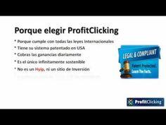 ProfitClicking: Presentacion Como Funciona ProfitClicking En Español, El Mejor Negocio Por Internet http://www.youtube.com/watch?v=O6auTL_wMqQ