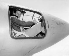 """On October 14, 1947, Air Force Captain Chuck Yeager became the first person to fly faster than the speed of sound aboard the experimental Bell X-1 rocket plane.As Chuck said """"spam in a can""""."""