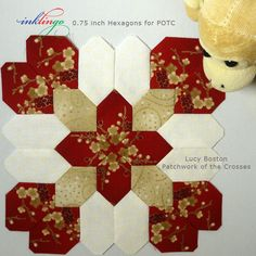 Inklingo Lucy Boston Patchwork of the Crosses (POTC)