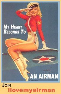 love this cause my hubby is a pilot and I totally look like her. Ok not so much but I have blond hair!