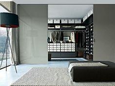 Einrichtungsideen für Schlafzimmer aus Italien - Kleiderschrank Design| Minimalisti.com
