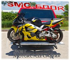 For the Gear Head Dad: SMC-600 Motorcycle Hauler from Discount Ramps has a self-mounting ramp for loading and an integrated front wheel chock. $269.99    Special for orders placed from 6/8/13 - 6/15/13, use Promo Code DADSRULE2013 for 5% off!