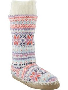 Old Navy Women's Sweater-Knit Booties