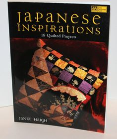 Japanese Inspirations Quilting Sourcebook by cozylittlecorner, $14.99