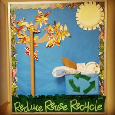 Reduce, Reuse, Recycle Bulletin Board
