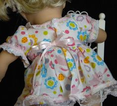 Easter dress for 15 inch Bitty Twin Doll by mydollyscloset1