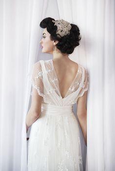 Vintage Wedding Dress #Anna Schimmel