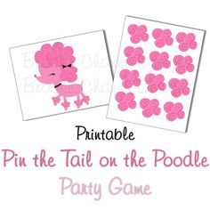 1000 images about paris party on pinterest printable for Pin the tail on the dinosaur template