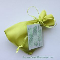 A BAG OF BLESSINGS WISHING YOU GOOD LUCK AT SECONDARY SCHOOL!  GIFT BAG/CARD #blessings #backtoschool