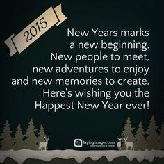 Happy New Year Wishes & Greeting | SayingImages.com