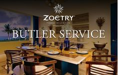 #XperienceTravelTheTaylorWay New Butler Service from Zoëtry Paraiso!: Greetings from Zoëtry® Paraiso de la Bonita… www.TaylorAndCoTravel.com
