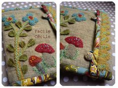 Another fine example of a truly beautiful needle book... love!