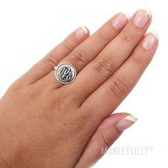 Monogram Ring | Marleylilly