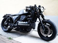 BMW K100 bobber, by Chemical Garage