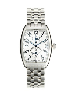 38f7c3ecaca Franck Muller Stainless Steel MasterBanker Watch by Tourneau at Gilt