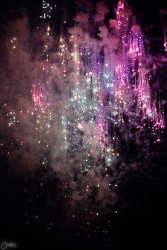 fireworks - pastel explosion