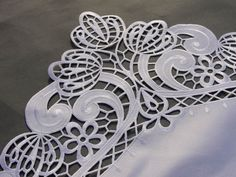 Resultado de imagen de cutwork embroidery design - Google Search