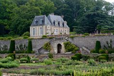 The château of #Valmer in the #Loire_Valley is a nice discovery with splendid gardens.