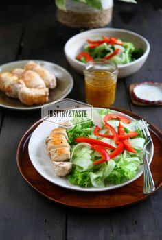 Chicken Sous-Vide Salad
