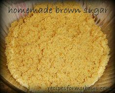 Homemade Brown Sugar
