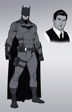 The Batman Redesign Sketch