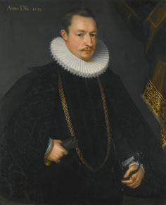Abraham del Hele   Lot   Sotheby's.  Portrait of Karl van Langemantel (d. 1610), dated 1592