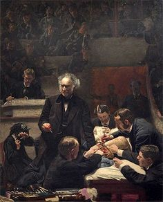 Eakins (The Gross Clinic, 1875) Canvas Art Print Reproduc... https://www.amazon.com/dp/B008A16STS/ref=cm_sw_r_pi_dp_x_4BVdzbWGRY1G2