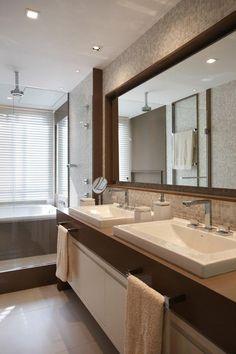 Duplex Península / Bezamat Arquitetura #banheiro #bathroom