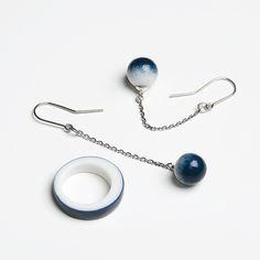 OLGA KABIE Porcelain jewelry #olgakabie