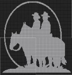 Cowboys via Loopaghans Custom Crochet. Click on the image to see more!