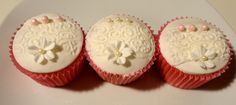 Christening Cupcakes Christening Cupcakes, Desserts, Ideas, Food, Meal, Deserts, Essen, Hoods, Dessert