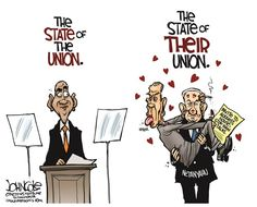 Boehner and Netanyahu © John Cole,The Scranton Times-Tribune